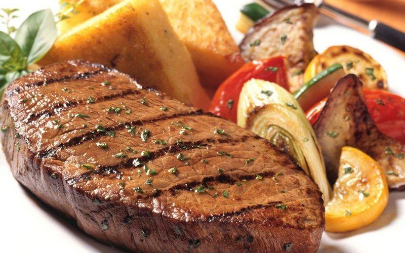 Meat steaks (Мясные стейки) - рецепт на английском с переводом