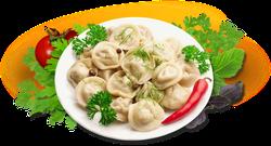 Рецепт пельменей на английском — Meat dumplings