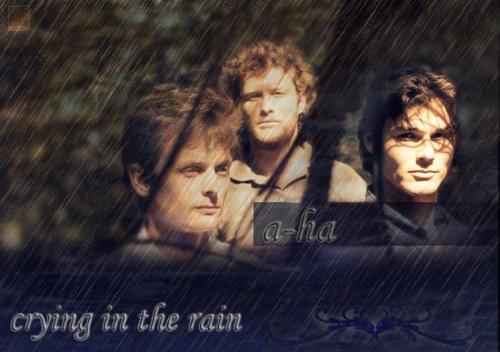 """Перевод песни """"Crying In The Rain""""- исполнитель A-ha"""