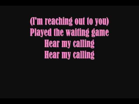 "Текст песни ""Calling"", исполнитель Geri Halliwell"