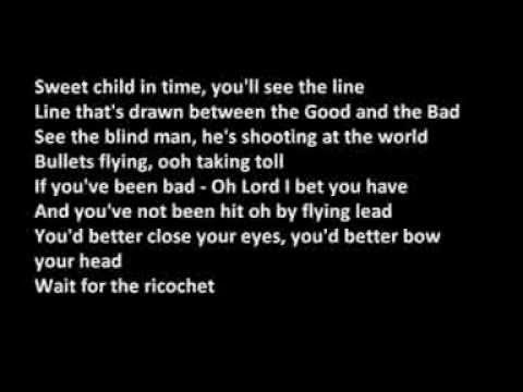 "Текст песни ""Child in Time"", исполнитель Deep Purple"