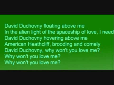 """Текст песни """"David Duchovny, Why Wont you Love me?"""", исполнитель Bree Sharp"""
