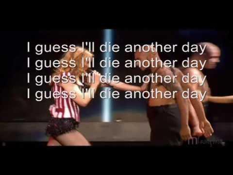 """Текст песни """"Die Another Day"""", исполнитель Madonna"""