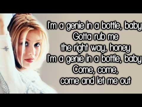 """Текст песни """"Genie In A Bottle"""", исполнитель Christina Aguilera"""