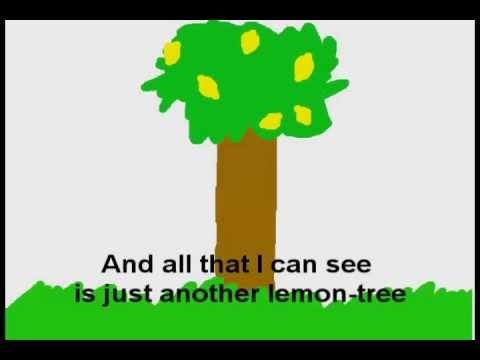 """Текст песни """"Lemon Tree"""", исполнитель Fool's Garden"""