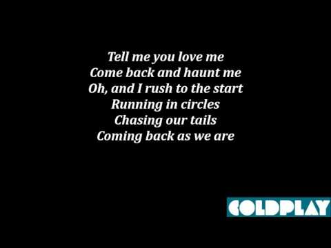 "Текст песни ""The Scientist"", исполнитель Coldplay"