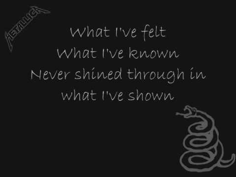 "Текст песни ""The Unforgiven"", исполнитель Metallica"