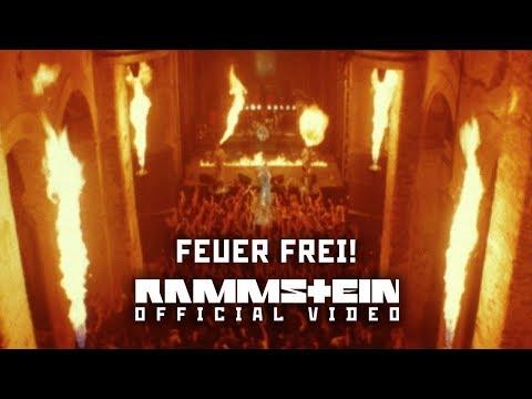 """Feuer frei!"", исполнитель Rammstein"