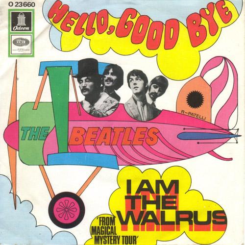 """I am the Warlus"", исполнитель The Beatles"