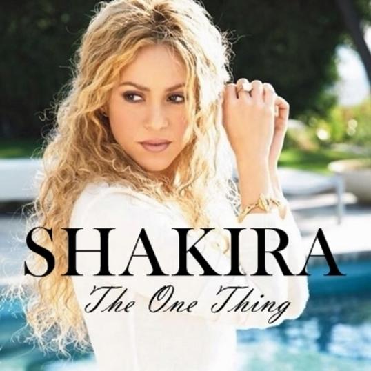 """The one"", исполнитель Shakira"