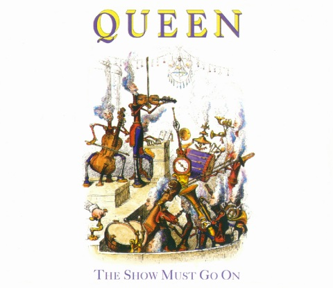 """The Show Must Go On"", исполнитель Queen"