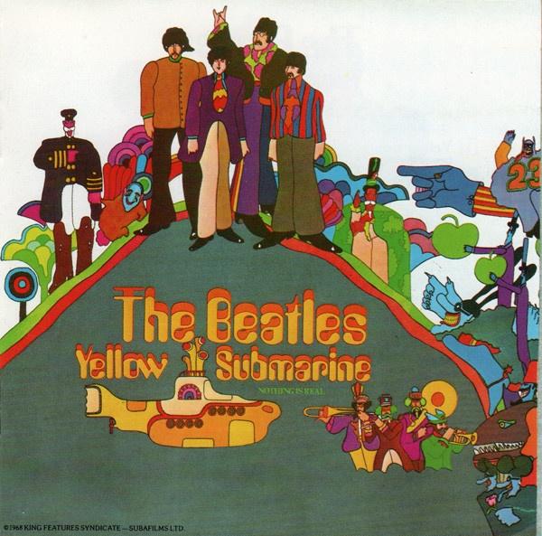 """Yellow Submarine"", исполнитель The Beatles"