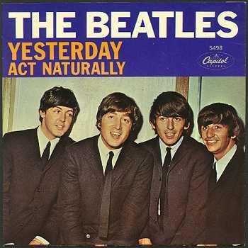 """Yesterday"", исполнитель The Beatles"